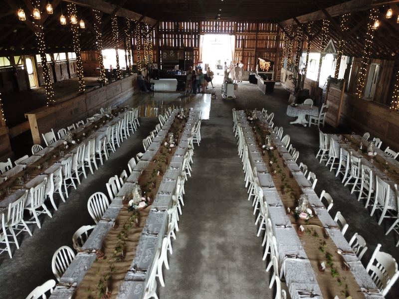 Burlap and Lace Barn - 7