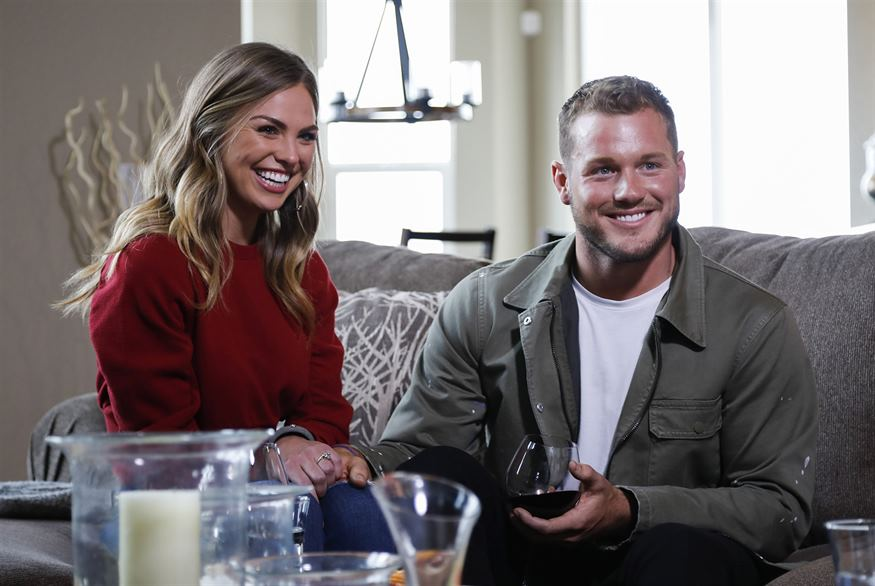 The Bachelor Colton Underwood and Cassie Randolph