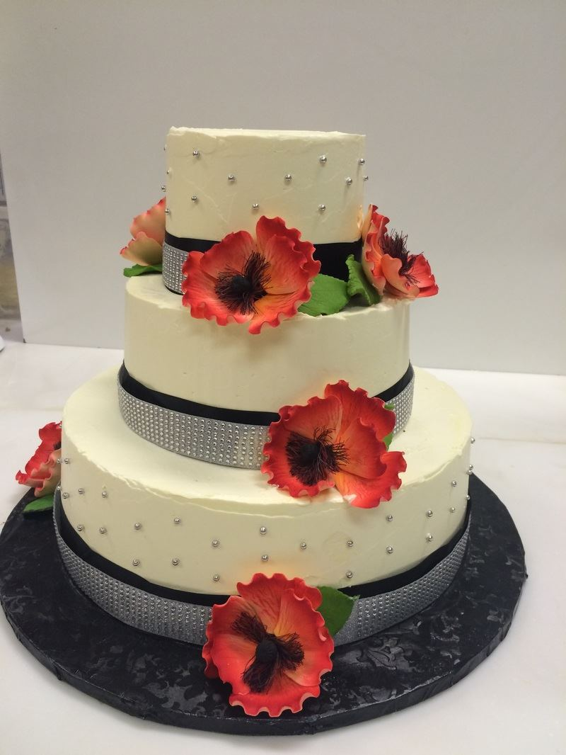 A Beautiful Wedding Cake - 1