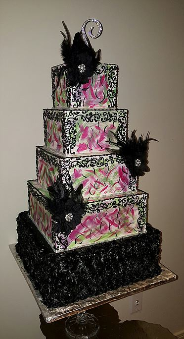 Wedding Cakes by Tammy Allen - 1