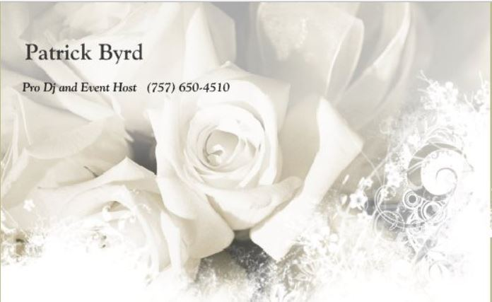 Patrick Byrd Pro DJ and Event Host - 1
