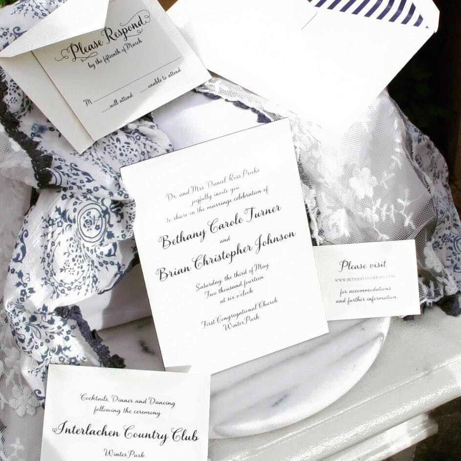 Maureen H. Hall Stationery and Invitations - 1