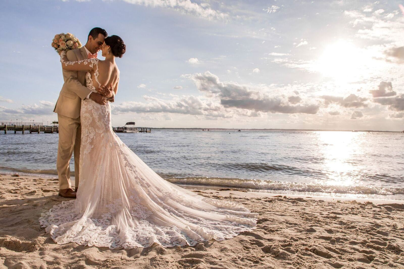 Barefoot Beach Bride - BBWed - 1