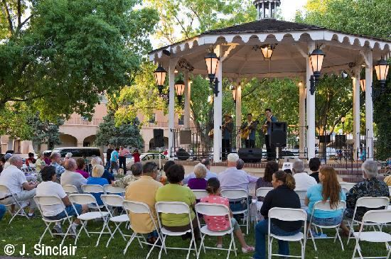 Historic Albuquerque Old Town Gazebo - 2