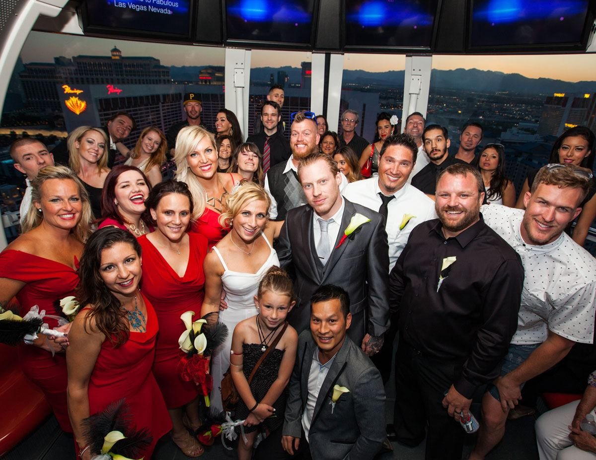 High Roller Weddings at The Linq - 4