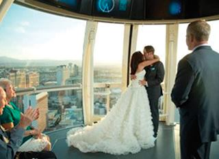 High Roller Weddings at The Linq - 3