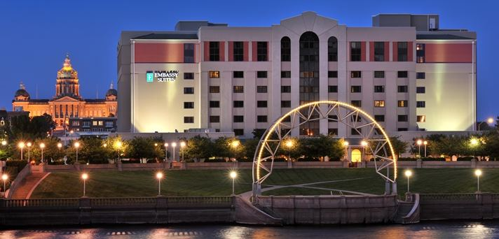 Embassy Suites Hotel Des Moines  Downtown - 1