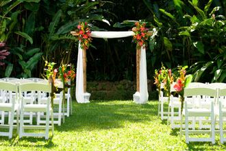 Haiku Gardens Wedding - 2