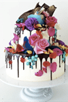 Unbirthday Wedding Cakes - 1