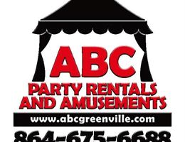 ABC Party Rentals, in Greenville, South Carolina
