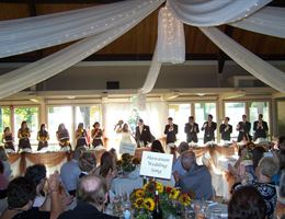 Elk Grove Pavilion is a  World Class Wedding Venues Gold Member