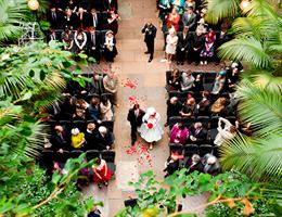 The Barbican is a  World Class Wedding Venues Gold Member