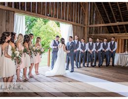 Stein-Boozer Barn is a  World Class Wedding Venues Gold Member