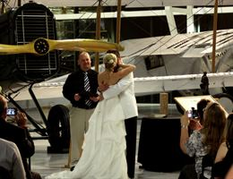 Evergreen Aviation & Space Museum is a  World Class Wedding Venues Gold Member