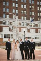 The Patrick Henry Ballrooom is a  World Class Wedding Venues Gold Member