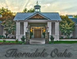 Thorndale Oaks is a  World Class Wedding Venues Gold Member