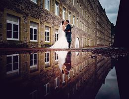 New Lanark Mill Hotel is a  World Class Wedding Venues Gold Member