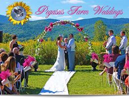 Pegasus Farm Campground is a  World Class Wedding Venues Gold Member