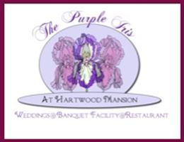 Purple Iris at Hartwood Mansion is a  World Class Wedding Venues Gold Member