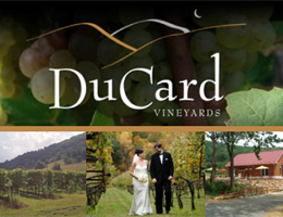 DuCard Vineyards is a  World Class Wedding Venues Gold Member