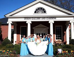 Hughes Pavilion at the Dixon is a  World Class Wedding Venues Gold Member