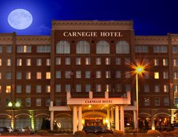 The Carneige Hotel is a  World Class Wedding Venues Gold Member