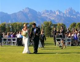 Jackson Hole Golf And Tennis is a  World Class Wedding Venues Gold Member