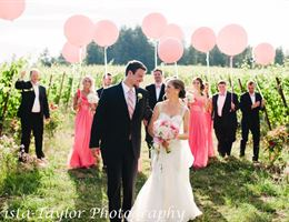 Zenith Vineyard is a  World Class Wedding Venues Gold Member