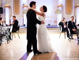Adrianna Hall Grand Ballroom is a  World Class Wedding Venues Gold Member