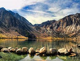 M And M Events at Convict Lake Resort is a  World Class Wedding Venues Gold Member