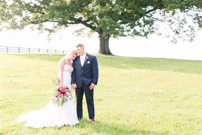 A Mountain View Farm Wedding Betty Kaleb