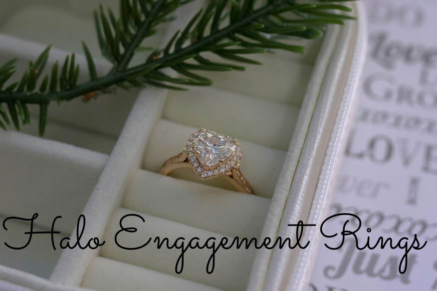 Halo Engagement Rings-Fascinating Diamonds